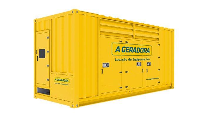 Gerador de Energia 550kva a 1875kva