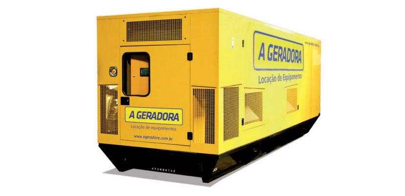 Gerador de energia de 170 a 500 kVA
