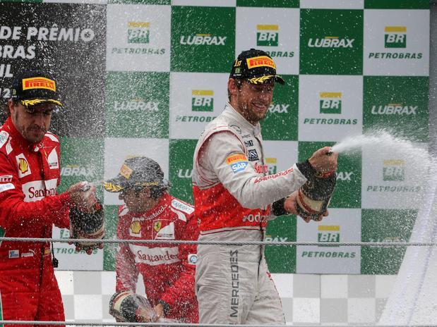 Podium Formula 1 2012 - Brasil 2