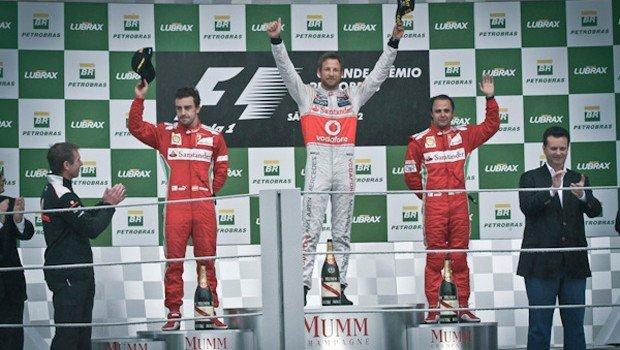 Podium Formula 1 2012 - Brasil