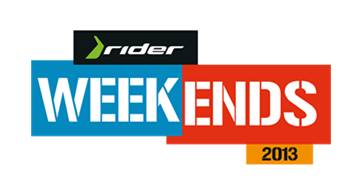 Rider Weekends 2013 - logo