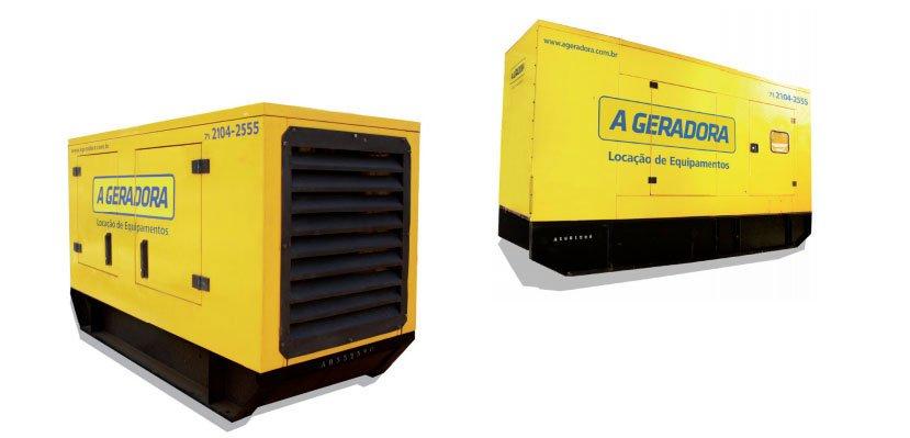Gerador de Energia de 55 a 150 KVA