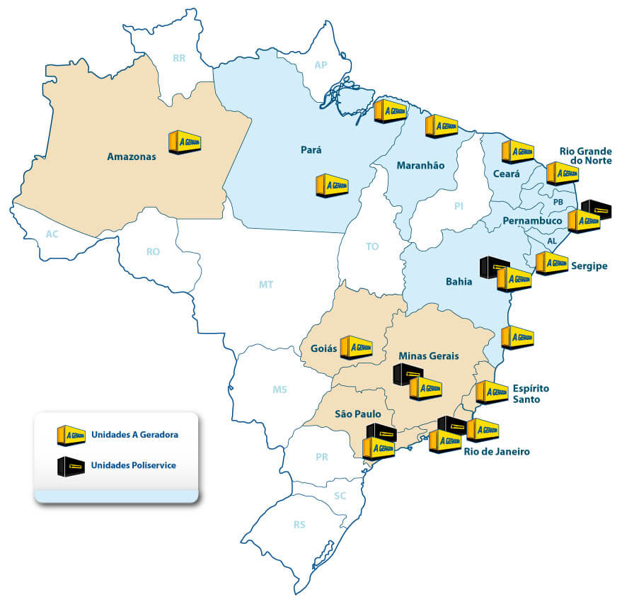Mapa A Geradora