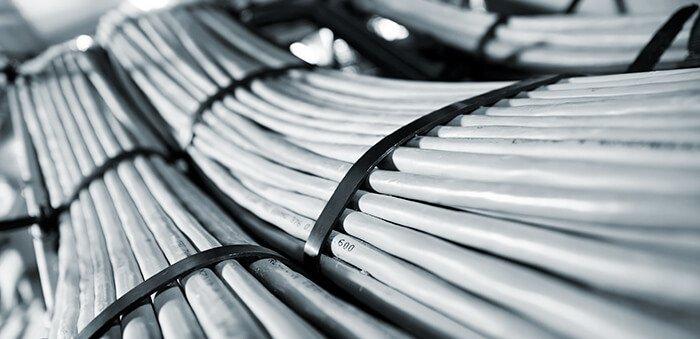 Cabos elétricos flexíveis