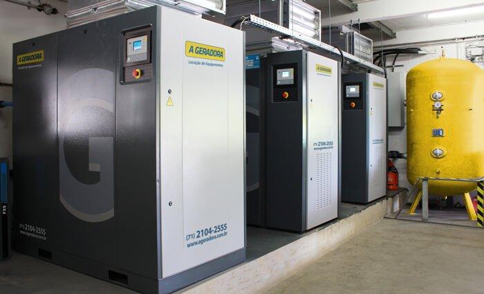 Compressor de ar elétrico