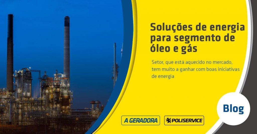 soluções de energia para óleo e gás