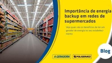 backup de energia para supermercados