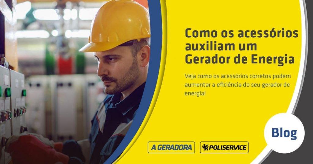 acessórios para gerador de energia