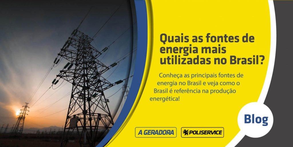 principais fontes de energia no brasil