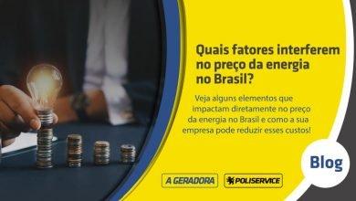 preço da energia no Brasil